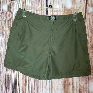 Northern Reflections Olive Green Casual Shorts 12